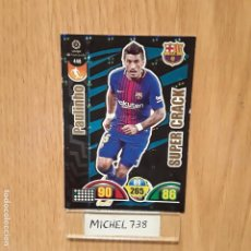 Trading Cards: ADRENALYN 17/18 SUPERCRACK PAULINHO BARCELONA. Lote 132193670