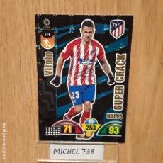 Trading Cards: ADRENALYN 17/18 NUEVO SUPERCRACK VITOLO ATLÉTICO DE MADRID.... Lote 132194178