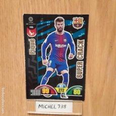 Trading Cards: ADRENALYN 17/18 SUPERCRACK PIQUE BARCELONA.... Lote 132194966