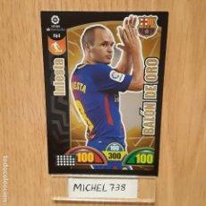 Trading Cards: ADRENALYN 17/18 BALÓN DE ORO INIESTA BARCELONA..... Lote 132195254