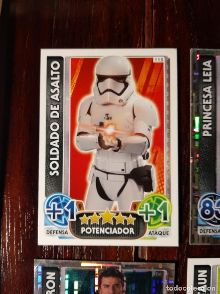 Trading Cards: 14 TOPPS TRADING CARDS STAR WARS FORCE ATTAX 2015 GAME - TRADING CARDS - VER FOTOS - Foto 2 - 132237270