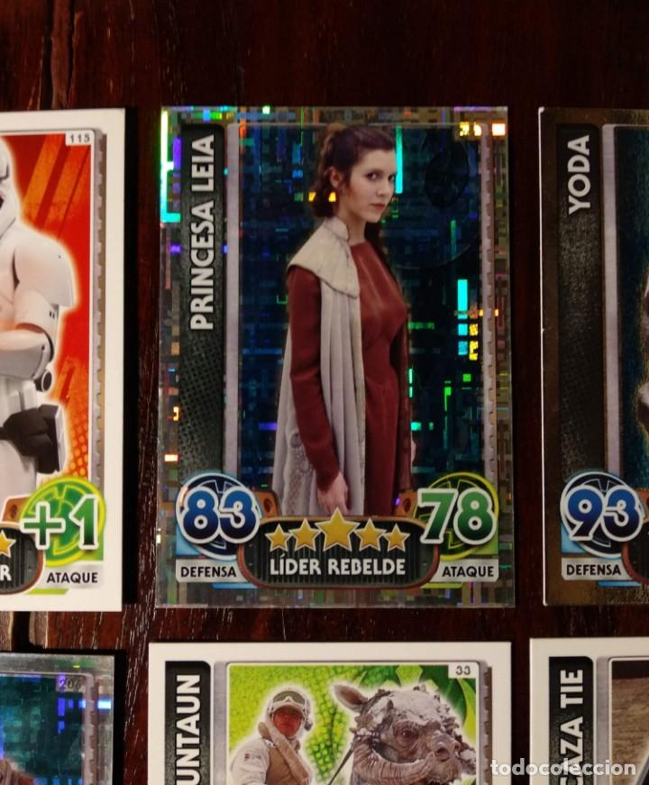 Trading Cards: 14 TOPPS TRADING CARDS STAR WARS FORCE ATTAX 2015 GAME - TRADING CARDS - VER FOTOS - Foto 3 - 132237270