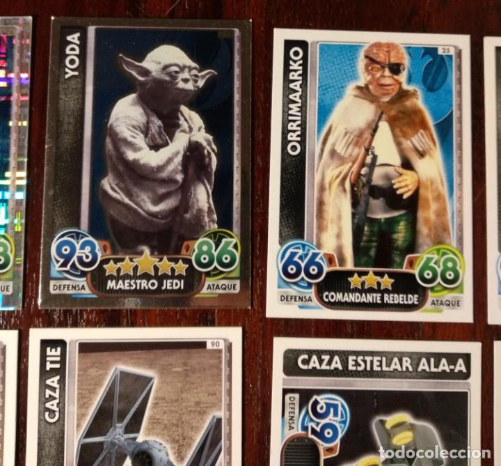 Trading Cards: 14 TOPPS TRADING CARDS STAR WARS FORCE ATTAX 2015 GAME - TRADING CARDS - VER FOTOS - Foto 4 - 132237270