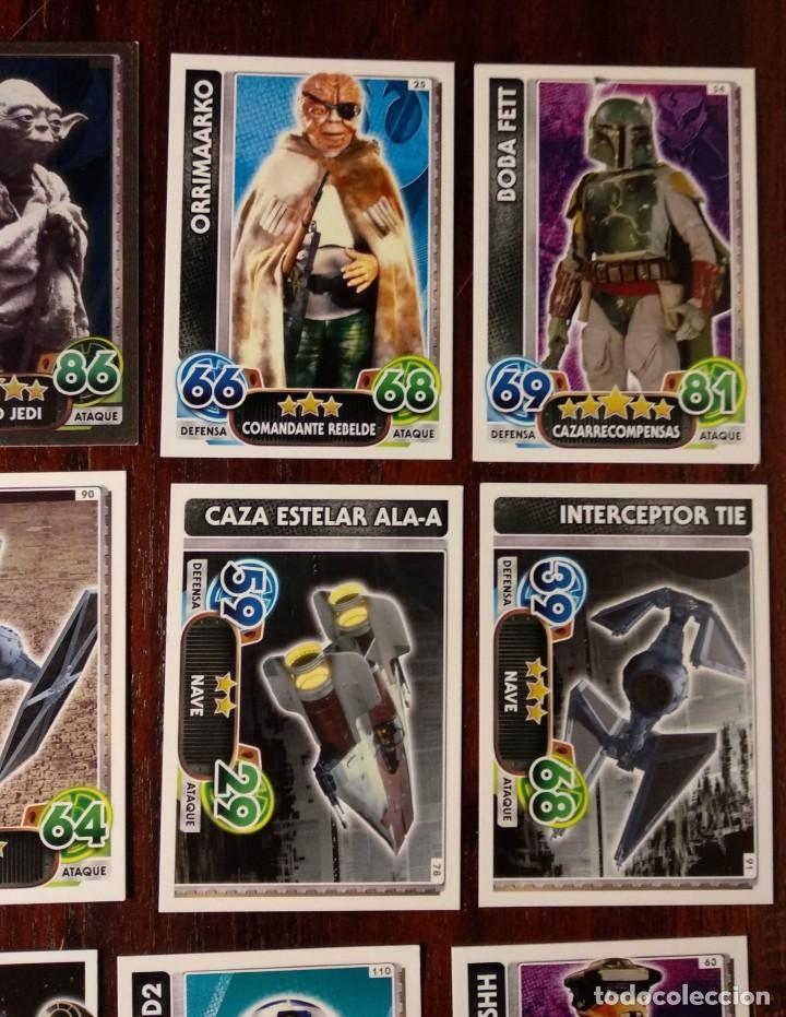 Trading Cards: 14 TOPPS TRADING CARDS STAR WARS FORCE ATTAX 2015 GAME - TRADING CARDS - VER FOTOS - Foto 5 - 132237270