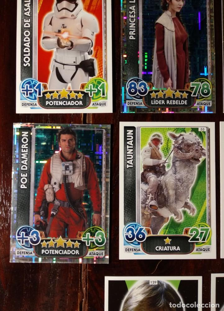 Trading Cards: 14 TOPPS TRADING CARDS STAR WARS FORCE ATTAX 2015 GAME - TRADING CARDS - VER FOTOS - Foto 6 - 132237270