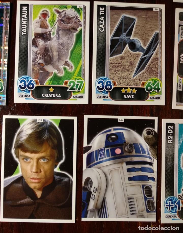 Trading Cards: 14 TOPPS TRADING CARDS STAR WARS FORCE ATTAX 2015 GAME - TRADING CARDS - VER FOTOS - Foto 7 - 132237270