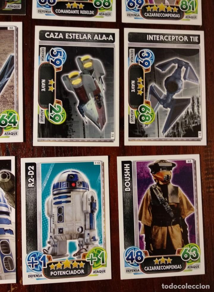 Trading Cards: 14 TOPPS TRADING CARDS STAR WARS FORCE ATTAX 2015 GAME - TRADING CARDS - VER FOTOS - Foto 8 - 132237270