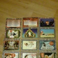 Trading Cards: LOTE DE 18 TRADING CARDS COCA COLA SUPER PREMIUN 1995 CROMOS COLLECT-A-CARD. Lote 132761899