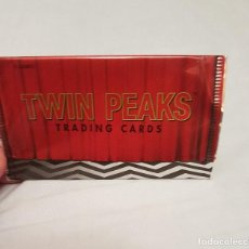 Trading Cards: SOBRE VACÍO NUEVO COLECCIÓN TRADING CARDS TWIN PEAKS. Lote 133392434