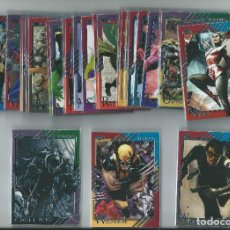 Trading Cards: MARVEL FLEER RETRO 2015 : SET BASE COMPLETO (60 CARDS). Lote 187518208