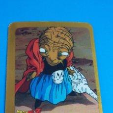 Cartas Colecionáveis: DRAGONBALL Z LAMINCARDS SERIE ORO ( EN ESPAÑOL ) - EDIBAS - CARD Nº 137 BABIDI. Lote 134337462