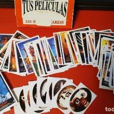 Trading Cards: CROMOS HISTORIA DE TUS PELICULAS 157 CROMOS ALGUNOS REPETIDOS Y 50 PEGATINAS. Lote 134435698