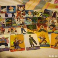 Trading Cards: LOTE DE 41 TRADING CARDS Y UN IMAN DE DRAGON BALL Z 1989,. Lote 134438074