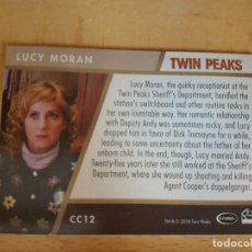 Trading Cards: CROMO TWIN PEAKS KIMMY ROBERTSON LUCY MORAN TRADING CARD. Lote 134835518