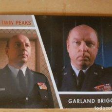 Trading Cards: TWIN PEAKS TEMPORADA 3 TRADING CARD MAYOR GARLAND BRIGGS DON DAVIS. Lote 134835866