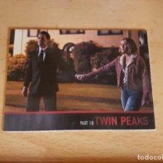 Trading Cards: TWIN PEAKS TRADING CARD TEMPORADA 3 ULTIMA DE LA COLECCION CON COOPER Y LAURA . Lote 134836950
