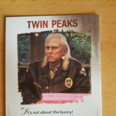 Trading Cards: TWIN PEAKS TRADING CARD TEMPORADA 3 FRASES CÉLEBRES HAWK WALLY BRANDON. Lote 134839918