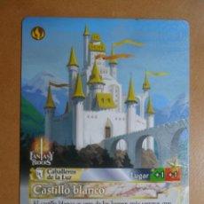 Trading Cards: Nº 251 - FANTASY RIDERS - CABALLEROS DE LA LUZ - CASTILLO BLANCO - PANINI 2018. Lote 137383420