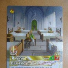 Trading Cards: Nº 252 - FANTASY RIDERS - CABALLEROS DE LA LUZ - CASAS DE CURACION - PANINI 2018. Lote 137383465