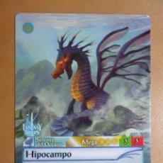 Trading Cards: Nº 267 - FANTASY RIDERS - SEÑORES DEL OCEANO - HIPOCAMPO - PANINI 2018. Lote 137383868