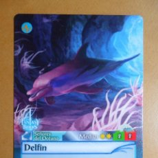 Trading Cards: Nº 275 - FANTASY RIDERS - SEÑORES DEL OCEANO - DELFIN - PANINI 2018. Lote 137383984