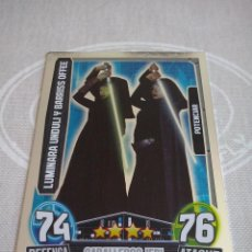 Trading Cards: TOPPS - STAR WARS FORCE ATTAX 2013 SERIE 3 CARD NUM. 202 NUEVA DE SOBRE .MBE. Lote 135019466