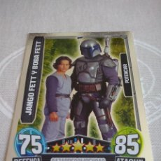 Trading Cards: TOPPS - STAR WARS FORCE ATTAX 2013 SERIE 3 CARD NUM. 204 NUEVA DE SOBRE .MBE. Lote 135019730