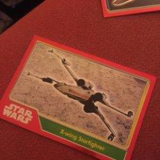 Trading Cards: EL DESPERTAR DE LA FUERZA X WING STARTFIGHTER STARWARS NÚMERO 182 TOOPS. Lote 135729118