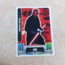 Trading Cards: Nº 16 DARTH MAUL PRIMERA COLECCION CROMOS CARDS STAR WARS CARREFOUR TOPPS FORCE JEDI CROMO CARD. Lote 135965670