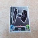 Trading Cards: Nº 66 CAZA TIE PRIMERA COLECCION CROMOS CARDS STAR WARS CARREFOUR TOPPS FORCE ATTAX JEDI CROMO CARD. Lote 135976770