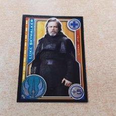 Trading Cards: Nº 86 LUKE SKYWALKER CROMOS CARDS STAR WARS CARREFOUR TOPPS EL CAMINO DE LOS JEDI CROMO CARD. Lote 148248794