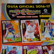 Trading Cards: GUIA OFICIAL ADRENALYN 16-17. Lote 136004676