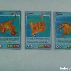 Trading Cards: LOTE DE 3 TRADING CARD DE INVIZIMALS. Lote 137441534