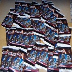 Trading Cards: STAR WAR STIKERS// FIGURITAS LOTE 30 SOBRES LLENOS EL DESPERTAR DE LA FUERZA EDIT.TOPPS/DISNEY. Lote 137469334
