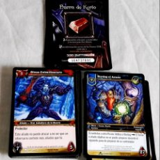 Trading Cards: LOTE DE 85 CROMOS - TRADING CARDS / WORLD OF WARCRAFT. Lote 137925718