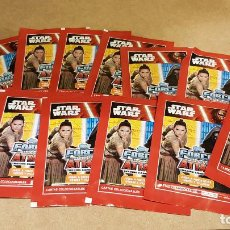 Trading Cards: STAR WARS / FORCE ATTAX / CARREFOUR / CONJUNTO DE 13 SOBRES SIN ABRIR / 39 CARDS.. Lote 138536002