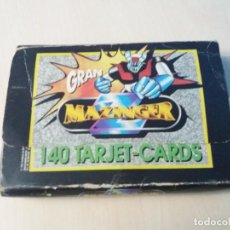 Trading Cards: GRAN MAZINGER - 140 TARJET CARDS + CAJA ARCHIVADOR - COMPLETA - EDICIONES ESTE. Lote 139522314
