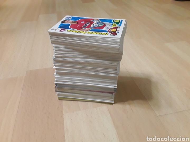 LOTE DE 440 CARDS ADRENALYN LIGA FÚTBOL 17/18 Y 15/16 (Coleccionismo - Cromos y Álbumes - Trading Cards)