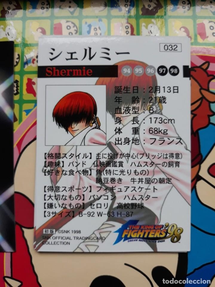 Trading Cards: the king of fighters 98 snk official trading card collection 32 032 - Foto 2 - 228217715