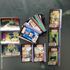 Trading Cards: DRAGON BALL BANDAI 1992 CARDDASS - PARTE 13 SET COMPLETO 34 CARDS + 6 PRISM + 2 CARDS ESPECIALES . Lote 141151914
