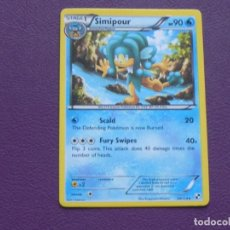 Trading Cards: CARTA POKEMON / STAGE 1 / SIMIPOUR / HP 90. Lote 143201018