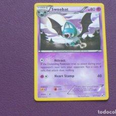 Trading Cards: CARTA POKEMON / STAGE 1 / SWOOBAT / HP 80. Lote 143201294