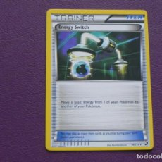 Trading Cards: CARTA POKEMON / TRAINER / ENERGY SWITCH / ITEM. Lote 143202966