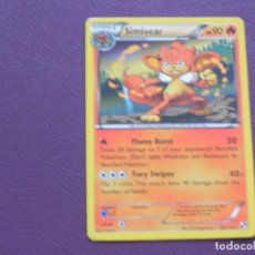 Trading Cards: CARTA POKEMON / STAGE 1 / SIMISEAR / HP 90. Lote 143203170