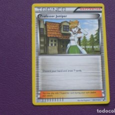 Trading Cards: CARTA POKEMON / TRAINER / PROFESSOR JUNIPER / SUPPORTER. Lote 143203262