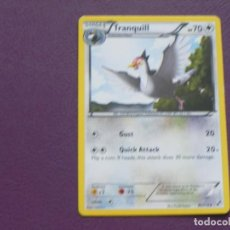 Trading Cards: CARTA POKEMON / STAGE 1 / TRANQUILL / HP 70. Lote 143203558