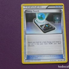 Trading Cards: CARTA POKEMON / TRAINER / ENERGY SEARCH / ITEM. Lote 143203722
