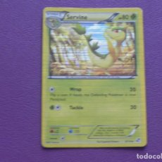 Trading Cards: CARTA POKEMON / STAGE 1 / SERVINE / HP 80. Lote 143204538