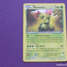 Trading Cards: CARTA POKEMON / BASIC / MARACTUS / HP 90. Lote 143204638