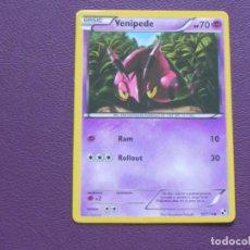 Trading Cards: CARTA POKEMON / BASIC / VENIPEDE / HP 70. Lote 143204774